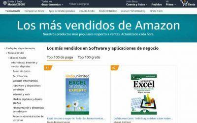 El «GuíaBurros: Microsoft Excel», de Miguel Antúnez, entre los más vendidos en Amazon