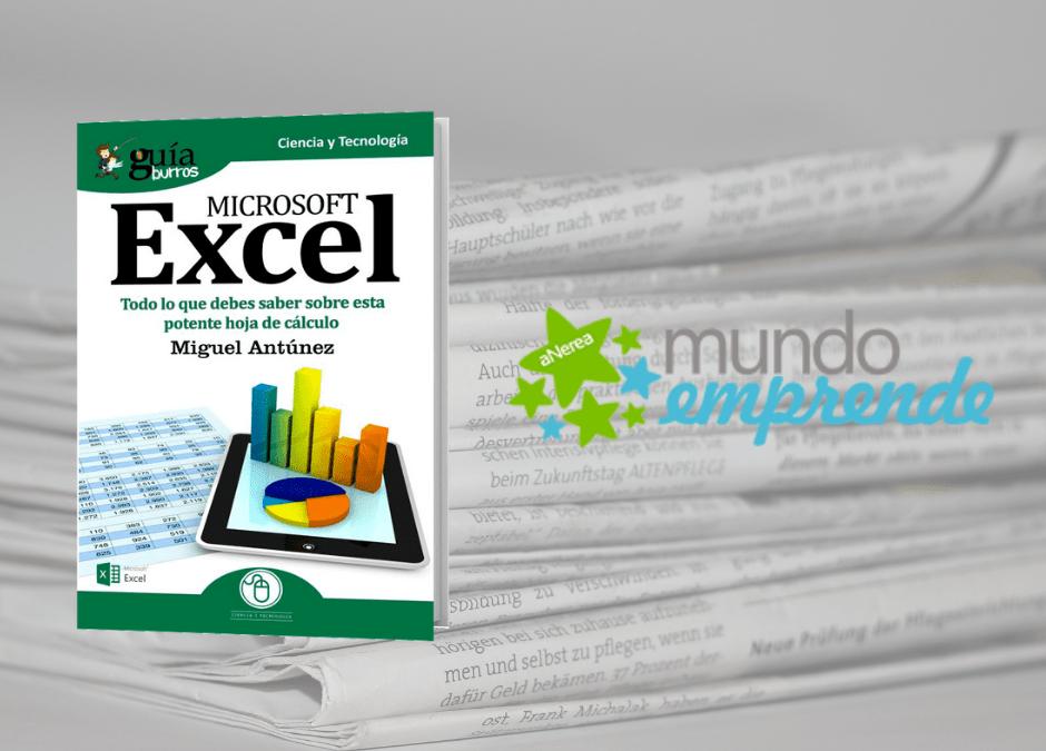 El «GuíaBurros: Excel» en el medio escrito de Mundo Emprende
