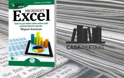El medio especializado Casa de Letras ha hecho una reseña del «GuíaBurros: Excel»