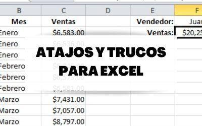 Trucos y fórmulas de Excel para simplificarte el trabajo